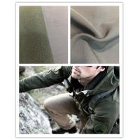 Breathable Super Stretch Fabric , 75D Four Way Stretch Fabric With Polar Fleece Manufactures