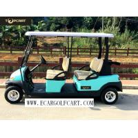 48V 6 Passenger Electric Golf Cart With Aluminum Chassis For Transportation Manufactures