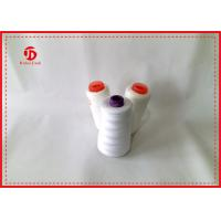 China Spun Polyester Sewing Thread / High Tenacity Polyester Yarn On Plastic Or Paper Cone wholesale
