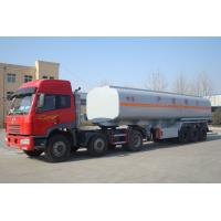 China 40000 liters 1 compartment semi truck fuel tanks trailer for sale on sale