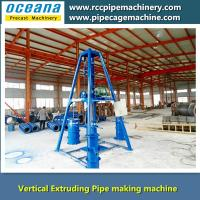 Vertical Extruding concrete Pipe machine Manufactures