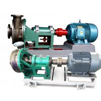 Stainless Steel Electric Chemical Pump , Horizontal Forced Circulation Pump Manufactures