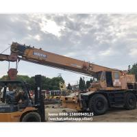 used 30ton kato rough terrian crane KR300 originally made in japan , just used for 5000 hrs , very good condition for sale