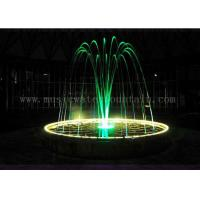 Dia 5 Meters Color Changing Jumping Jet Fountain For Hotel / Restaurant Lobby Manufactures