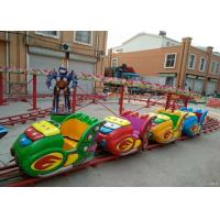 Space Shuttle Shape Kiddie Roller Coaster Marked With Modern Interchange Track Manufactures