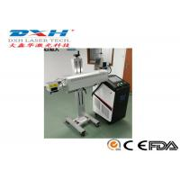 Aluminum Structure Automatic Laser Marking Machine For Outer Of Food Packaging Manufactures
