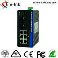 Managed Industrial Ethernet Media Converter with 2 100Base-FX ports and 6 10 / 100Base-T(X) ports Manufactures