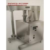 5kw Pharmaceutical Machinery Gelatin Color Mixer With Hydraulic Lifting System Manufactures