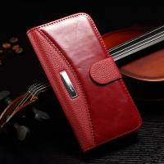 Iphone 7 Plus Vintage IPhone Leather Wallet Case Multi Colors Litchi Splitting Manufactures