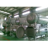China Retort Sterilizer Machine Autoclave Water Circulation Pipeline Food Industrial Applied on sale