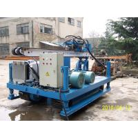 Anchor Drilling Crawler Drilling Rig 3.5 m Maste Long Stroke Manufactures