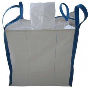 China 1 Ton FIBC , Big Jumbo Bag / Flexible Container PP Woven Bag For Sand Loading on sale