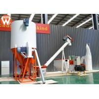 Electric Poultry Processing Equipment , Birds Chicken Feed Processing Plant Manufactures