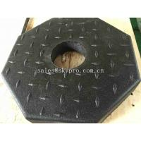 Outdoor Rubber Pavers / Rubber Floor Paver Training Room Interlocking Tile Manufactures
