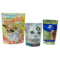 Large Capacity Pet Food Packaging Bag , Bottom Gusseted Poly Bags For Food Manufactures