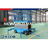 12m Working Height Air Scissors Hydraulic Platform Lift Strong Power Manufactures