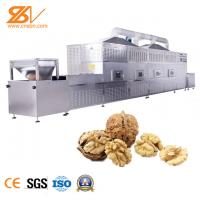 Walnut Industrial Microwave Dryer / Stainless Steel Drying And Sterilization Machine Manufactures