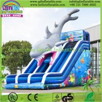 Inflatable Water Slides,Inflatable Slide With Pool,Kids Used Water Slide For Sale Manufactures