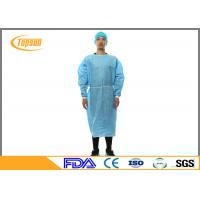 China Disposable Surgical Hospital Patient Gown , Protective Sterile Gowns For Medical on sale