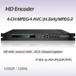 Four-Channel SDI HD H.264 Encoder REH2304 Manufactures