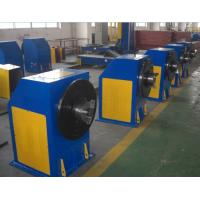 Adjustable Rotary Welding Positioners , Automatic Welding Turning Table Manufactures