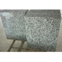 Solid Surface Granite Stone Floor Tiles , Gray Natural Granite Stone Slabs Manufactures