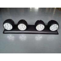 120W LED roof mounted spotlight with 4 Lights, Off Road 4x4 Roof 4 Clear Fog Light Setup Manufactures