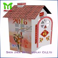 Custom cardboard toy house , Mini cardboard playhouses for kids Manufactures