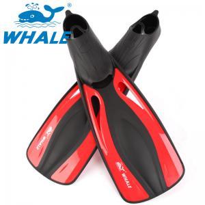 Adjustable Straps Skin Diving Fins , Women