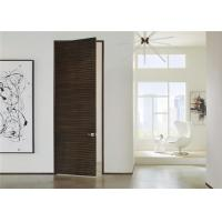 Laminate Coated Mdf Wooden Composite Front Doors Flush Interior PVC Swing Open Style Manufactures