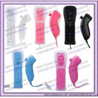 Wii Remote Controller and Nunchunk Wii game accessory Manufactures