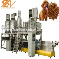 China Fish Pet Food Machine Equipment Plant , Pet Food Processing Plants CE Approved on sale