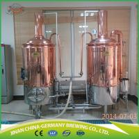 200L pilot system beer making equipment brewing two batches per day Manufactures