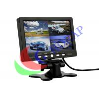 Widescreen  BNC Surveillance LCD CCTV Monitor  Open Frame 7 Inch High Brightness Manufactures