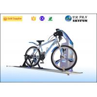 Sport 9D VR Game Virtual Bike Simulator With Wireless 3D Vr Glass CE Approved Manufactures