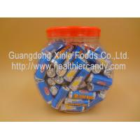 Novelty Healthier Round Milk Tablet Candy Delicious For Christmas / Holiday Manufactures