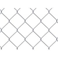 Black PVC Coatedchain link mesh fence Panels/Cyclone Fence 1.8m*10m*50mm*50mm Manufactures