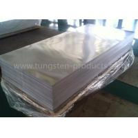 TZM Alloy / Molybdenum Sheets For High Temperature Furnaces Length 1500mm Manufactures