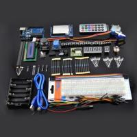 China DIY Geek Starter Kit for Arduino with Uno r3 Joystick 1602 LCD 830 Tie Breadboard Starter Learning Kits on sale