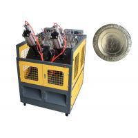 High Output Paper Plate Making Machine Stable Running 70 - 100 pcs / min Manufactures