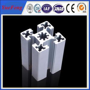 aluminum alloy 6063 Extrusion T-Slot industrial Aluminum Profile in stock Manufactures