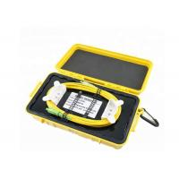 Buy cheap Durable OTDR Ring Box Dummy Fiber Optic Launch Box With SM / MM Connectors from wholesalers