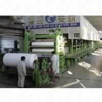 5-ton/Day White Paper-making Machine, Waste Paper, Virgin Pulp, Bagasse, Wheat Straw Raw Materials Manufactures