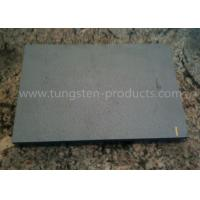 Quality Mo1 Pure 99.95% Molybdenum Plate Products Black Surface For Heat Resistance for sale