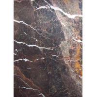 China Coffee Imperial Royal Golden Brown Marble Granite Slabs Big Size Tiles on sale