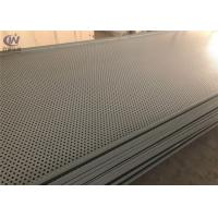 Custom Durable Steel Perforated Metal Sheet Powder Coated 0.5-100mm Wire Diameter