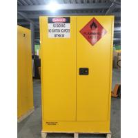 4 GAL Small Industrial Safety Cabinets With Door For Chemical Flammable Liquids Manufactures