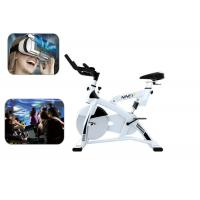 China Fitness 9D Virtual Reality Bike Ride Racing Game Machine For Losing Weight on sale