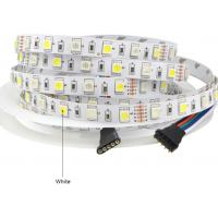 waterproof led flexible strip lights smd5050 5m 300leds DC24V RGB+W Manufactures