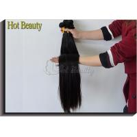Malaysian Straight Hair Bundles Natural Color Non Remy Hair Weave Human Hair Manufactures